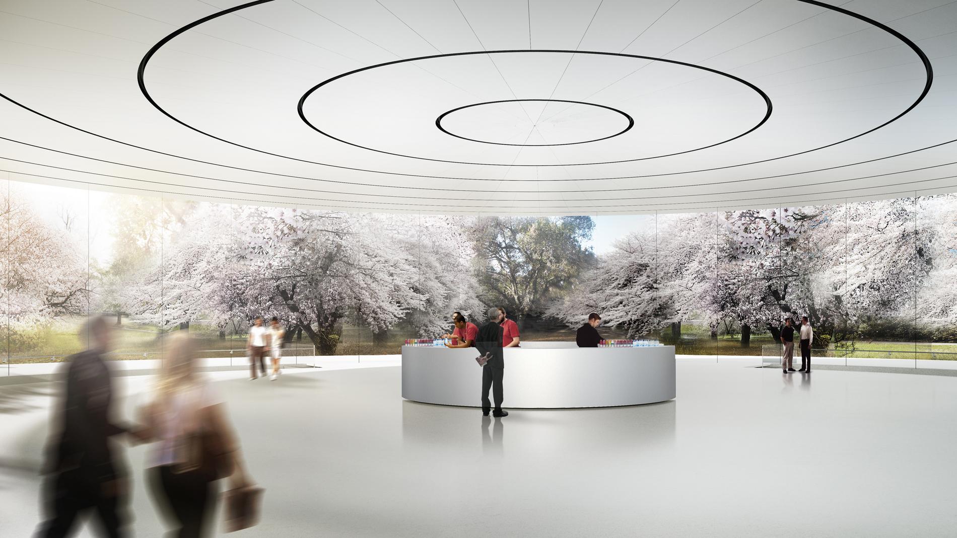 Il nuovo campus di Apple